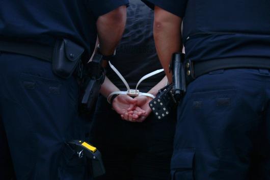 mackie_rally_arrest